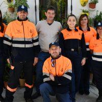 Balance positivo del trabajo de Protección Civil en Algatocín