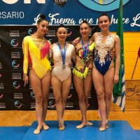Tres gimnastas del Club  Agra se clasifican en El Ejido para Campeonato Nacional Base Individual