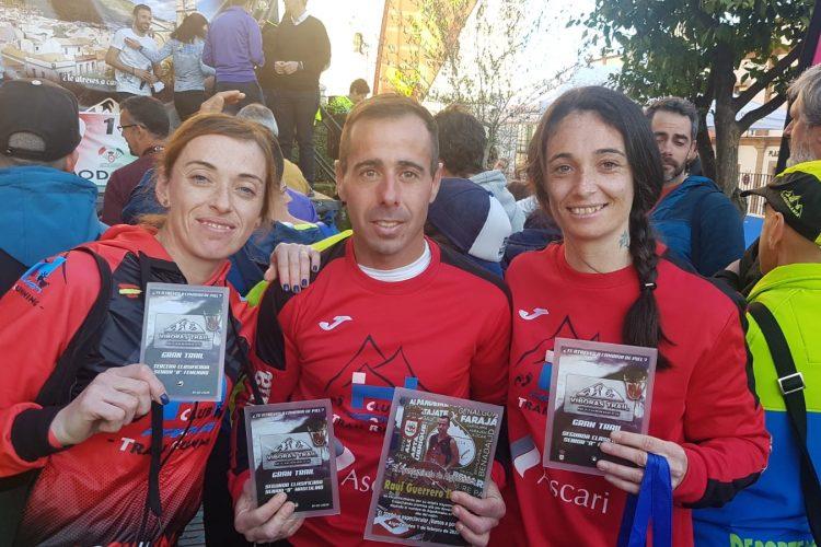El Club Ascari-Harman Trail Running, presente en cinco competiciones este fin de semana