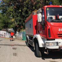 Los efectivos del Consorcio Provincial de Bomberos mantienen el operativo de desinfección en municipios de la Serranía