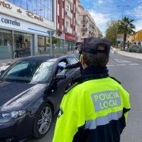 La Policía Local ya ha levantado 93 actas sancionadoras por incumplir la normativa del estado de alarma