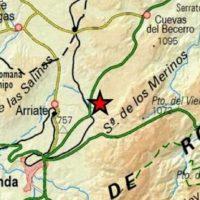 Un terremoto de magnitud 3,4 con epicentro en Arriate se ha dejado sentir en diferentes municipios de la Serranía de Ronda