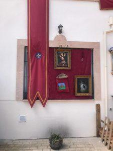 Un altar de la Hermandad de Los Gitanos.