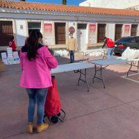 Bienestar Social y Cruz Roja realizan un nuevo reparto de alimentos este Viernes Santo a cerca de 140 familias con escasos recursos