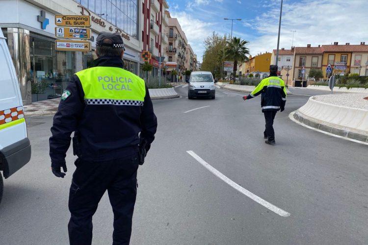 Las sanciones tramitadas por la Policía Local por incumplir el confinamiento ya son 110
