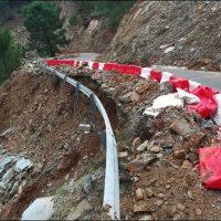La Diputación destina 4,3 millones de euros para reparar diez carreteras de la Serranía afectadas por los temporales