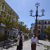 Finaliza el plan de mejoras en la céntrica plaza de Carmen de Abela