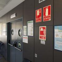 El Hospital de Ronda lleva a cabo una serie de medidas para garantizar la seguridad en las consultas externas con motivo de la Covid-19