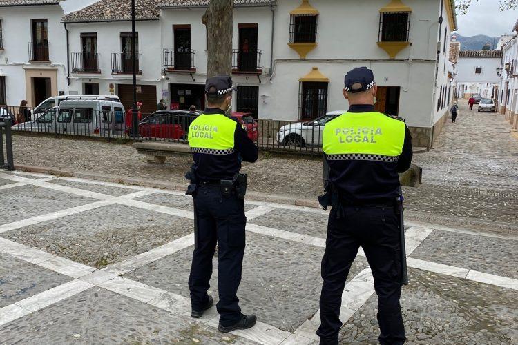 La Policía Local impuso 46 sanciones en Semana Santa en su mayoría a personas que incumplieron la normativa anti Covid