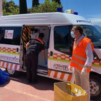 El Ayuntamiento traslada este sábado el reparto de mascarillas a las pedanías de La Cimada y Los Prados