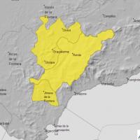 La comarca de Ronda entra este sábado en alerta amarilla en previsión de fuertes tormentas