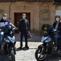 El Ayuntamiento adquiere dos motocicletas para el servicio de notificadores