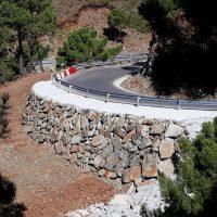La Diputación destina 400.000 euros para evitar desprendimientos en las carreteras de Jubrique y Genalguacil