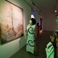 Genalguacil, el 'Pueblo museo', celebra el 25 aniversario de su sala de arte comtenporáneo