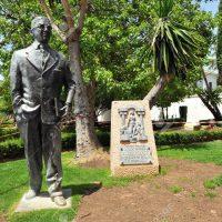 Blas Infante regresará al sitio que le dieron los rondeños: el paseo que lleva su nombre junto a las cornisas del Tajo
