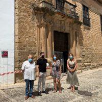 Arrancan las obras de rehabilitación del Palacio de Mondragón-Museo Municipal, con cerca de medio millón de euros