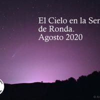 El cielo de agosto en Ronda: Llegan las Perseidas