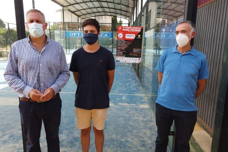 La Asociación El Buen Samaritano organiza el IV Torneo Benéfico Pádel Promise