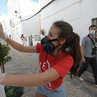 Los XV Encuentros de Arte de Genalguacil alcanzan su ecuador con unos artistas sumergidos en sus obras