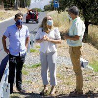 La ampliación de la carretera A-373 entre las sierras de Cádiz y Ronda alcanza el 70% de ejecución