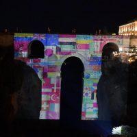 La Ciudad del Tajo celebró el Día del Turismo con la proyección en el Puente Nuevo del audiovisual 'Ronda, ven'
