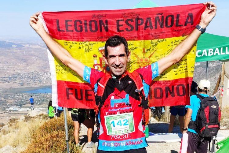 El veterano corredor rondeño Fede Sáenz queda segundo en Campeonato de Andalucía de Carreras Verticales