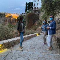 Entra en funcionamiento la nueva iluminación del histórico y muy visitado camino de Albacar
