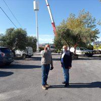 Retiran del Predicatorio la antena de telefonía que se instaló sin ninguna autorización