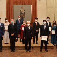La Real Maestranza de Caballería de Ronda premia la excelencia de estudiantes de la Serranía con sus becas y menciones