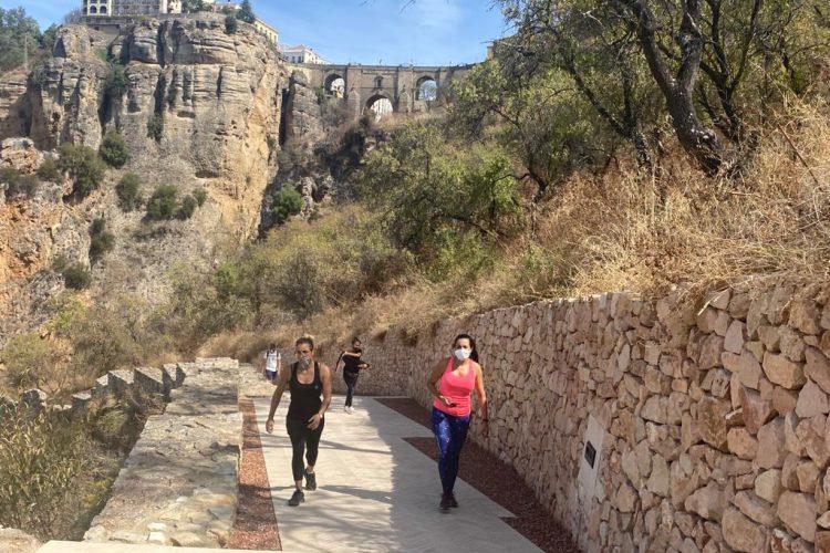 La recuperación del camino de Albacar recibe una mención especial en los Premios de Andalucía de Urbanismo