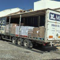 Ronda recibe 26 toneladas de alimentos de la UE para el programa de ayuda social del Ayuntamiento y Cruz Roja