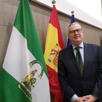 El nuevo gerente del Área Sanitaria Serranía, Francisco Javier Vadillo, toma posesión del cargo