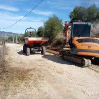 El Ayuntamiento pone en marcha las mejoras en el camino de La Hedionda con más 128.000 euros