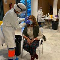 La Junta de Andalucía realizará un nuevo cribado masivo a mil rondeños el viernes para testar la evolución de la pandemia