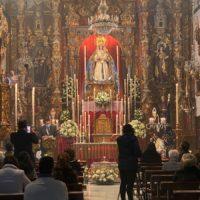 Ronda celebra la festividad de su patrona y alcaldesa perpetua de la ciudad, la Virgen de la Paz, con una solemne misa