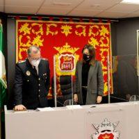 Miguel Aranda toma posesión del cargo de subinspector de la Policía Local de Ronda