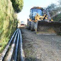 Algatocín realiza mejoras en la red de agua potable en la pedanía de Salitre con una inversión de 55.000 euros de la Diputación