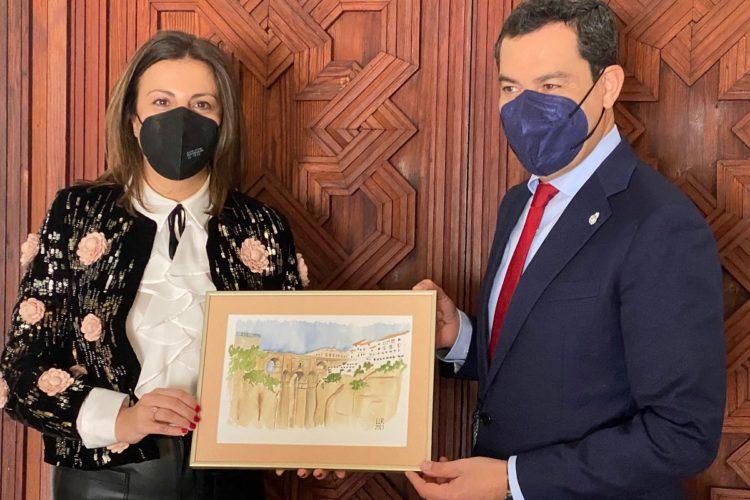 Día histórico para Ronda con la celebración, tras 40 años de democracia y andalucismo, de la reunión del Consejo de Gobierno de la Junta