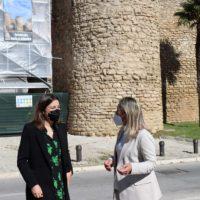El Ayuntamiento inicia los trabajos de restauración de la histórica Puerta de Almocábar