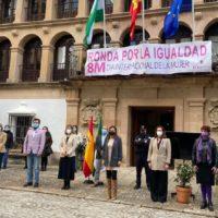 Ronda conmemora el Día Internacional de la Mujer con un acto institucional en el Ayuntamiento
