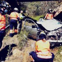 Encuentran sin vida en el interior de su coche a la mujer desaparecida en Yunquera