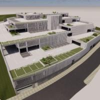 El aparcamiento del barrio de San Francisco quedará integrado en el entorno y evitará el impacto visual