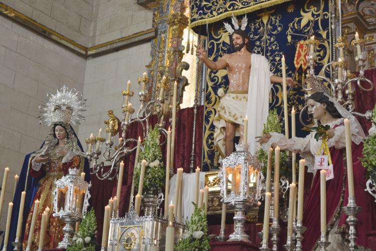 La Ciudad del Tajo cierra una Semana Santa diferente con oraciones dirigidas al Resucitado