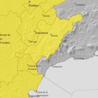 La Serranía permanecerá este lunes en alerta amarilla en previsión de fuertes lluvias que vendrán acompañadas de tormentas