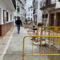 La Diputación de Málaga invierte 97.000 euros para el arreglo de calles en Algatocín y Benadalid