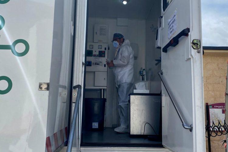 La Consejería de Salud realiza un cuarto cribado Covid en Ronda con cerca de 400 personas citadas