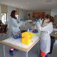 Los casos activos por Covid vuelven a superar el centenar en el Área Sanitaria Serranía