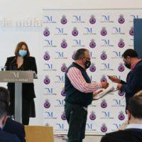La Diputación de Málaga entrega planes de Protección Civil a cinco municipios de la Serranía