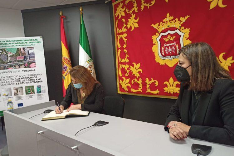 La Consejería de Agricultura destina 750.000 euros para la nueva Oficina Comarcal Agraria de Ronda