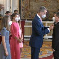 El chef Miguel Herrera es condecorado por el Rey con la Orden del Mérito Civil por su compromiso Social, Medio Ambiental y su carácter emprendedor